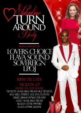Valentine Turn Around Party