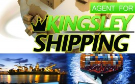 kingsley Shipping Services poster .