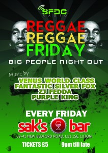 reggae reggae friday