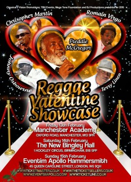 Reggae Valentine Showcase 2015