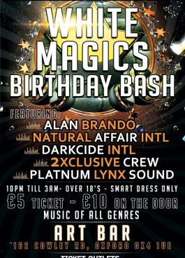 White Magic Birthday Bash