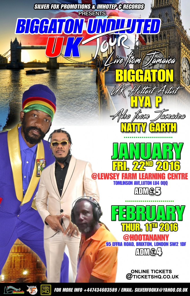 Biggaton uk tour