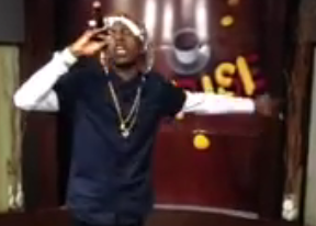 VIDEO: Dancehall Artist Kasanova Performing On Popular Nationwide